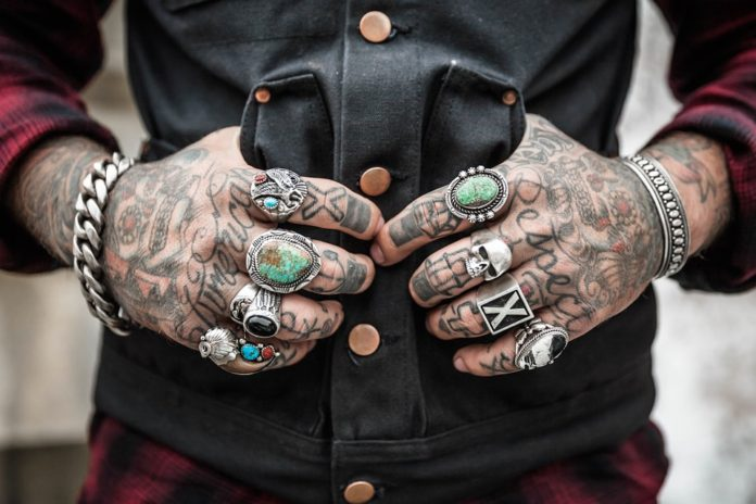 Rings A Man Must Try For A Punk Look