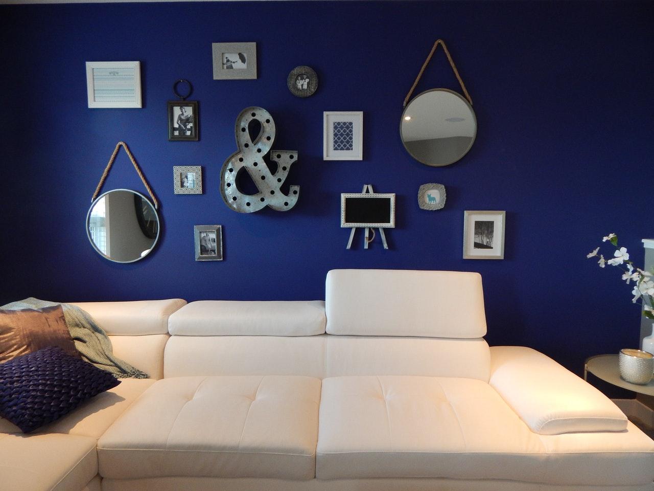 Accessorise the living area