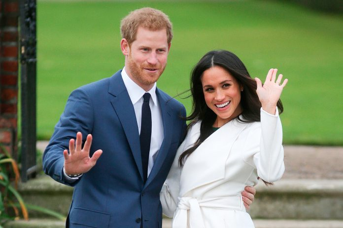 Prince Henry and Meghan Markle Royal Wedding