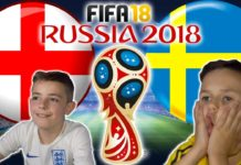 England vs Sweden World Cup 2018