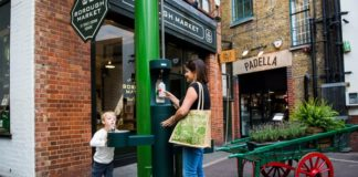 London's New Public Water Fountains Makes a splash hit