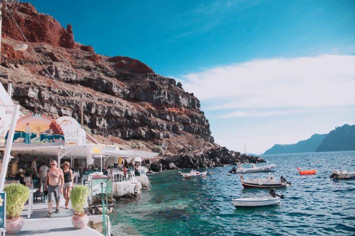 To Do List on Santorini Island