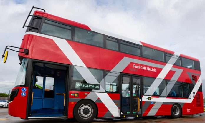 London to Get World First hydrogen-powered double decker buses